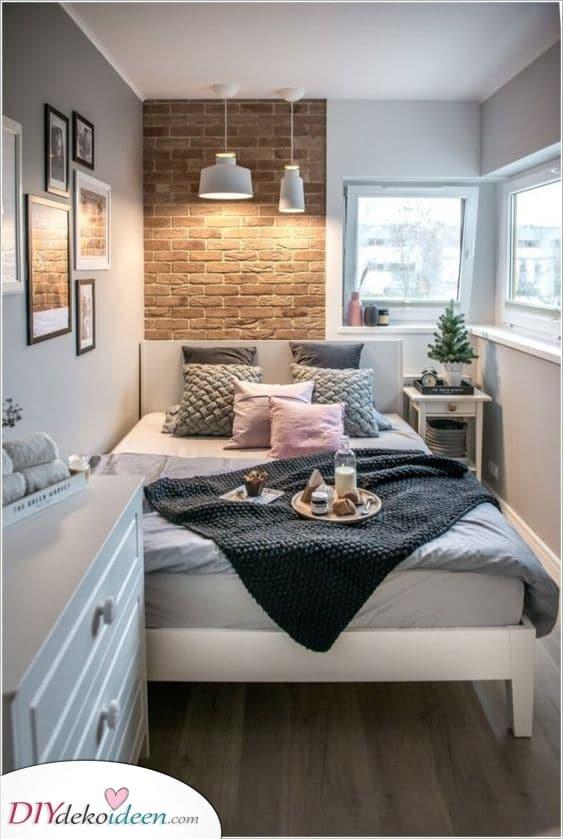 Stilvoll und hübsch – Design-Ideen für kleine Schlafzimmer