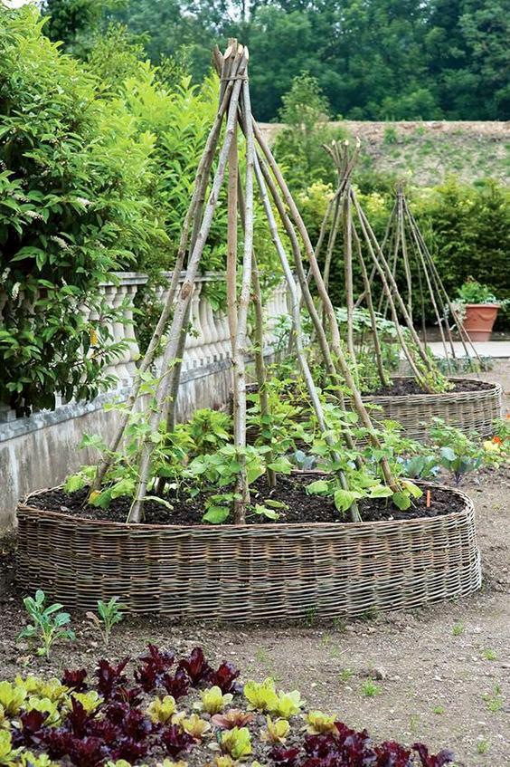 vWeben Sie es einfach selbst – Ein natürlicher Look für den Garten
