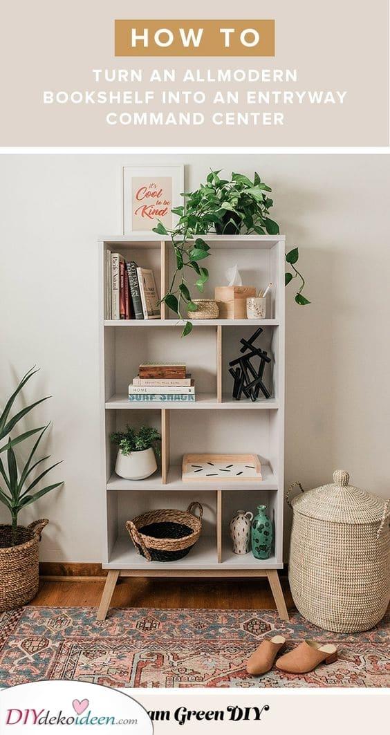 Alles Organisiert – Dekorieren Sie Ihr Bücherregal