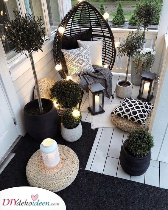 Garten Terrassen Ideen – Bring etwas Licht ins dunkle