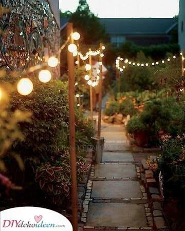 Lichterketten – Moderne Gartenbeleuchtung