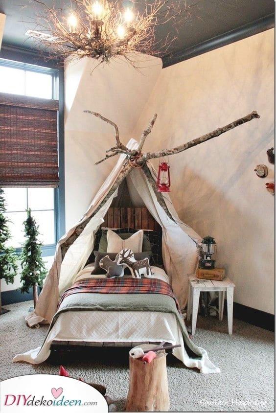 Ein Waldnest – Zimmer Ideen für kleine Jungs