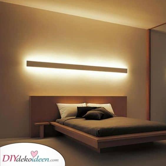 Schöne Buchtbeleuchtung – Dekorative Schlafzimmer Leuchte