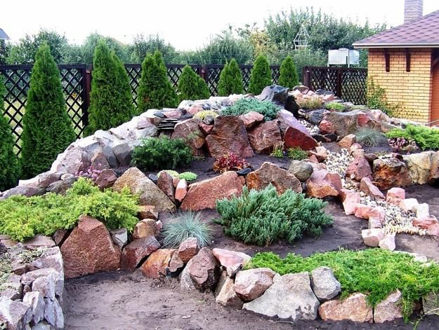 Ein großer Hügel – Ein Steinbeet anlegen für Ihr Zuhause