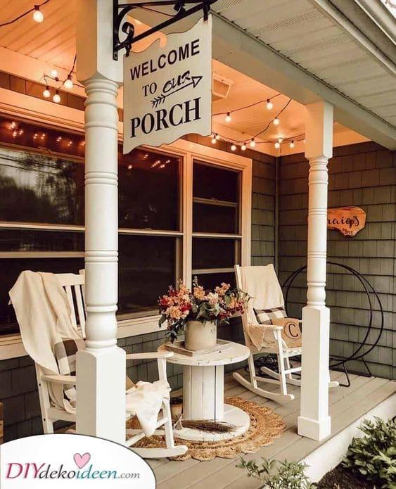 Ein Ort der Entspannung – Kleine Terrasse gemütlich gestalten