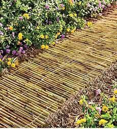 Ein Bambuspfad – Kreativ im Garten