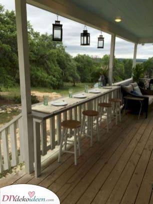 Ein Ort um gut zu Essen – Ihre perfekte Veranda