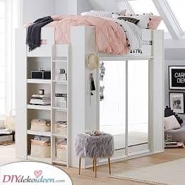 Ein tolles Bett – Kleine Schlafzimmer einrichten