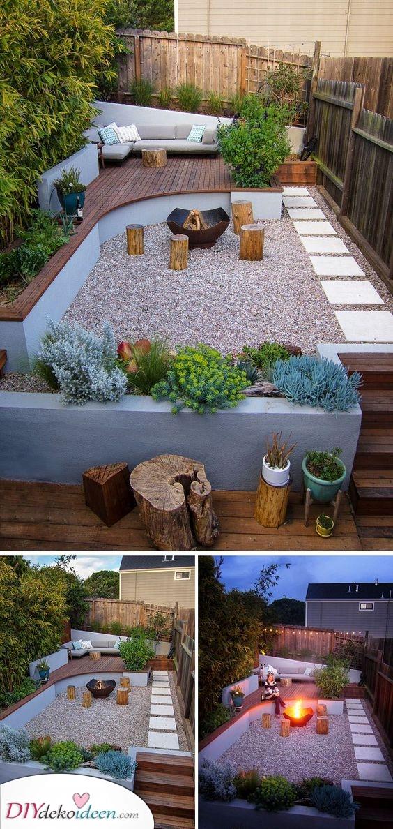 Einen kleinen Garten gestalten – Schöne Ideen