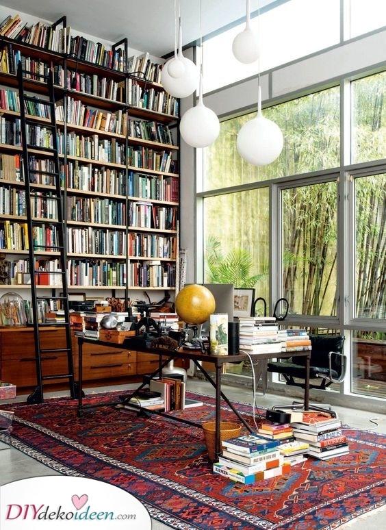 Ihre eigene Bibliothek – Bedecken Sie eine ganze Wand