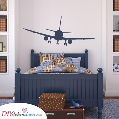 Karierte Flugzeuge – Ideen für Ihr Kinderzimmer
