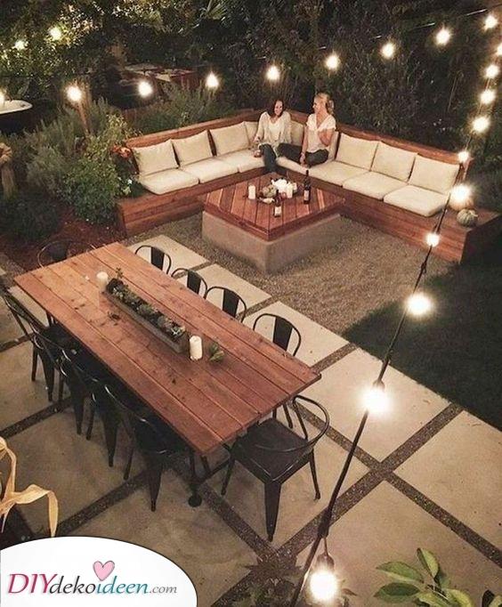 Perfekt für Partys – Ein Garten für gesellige Zusammenkünfte