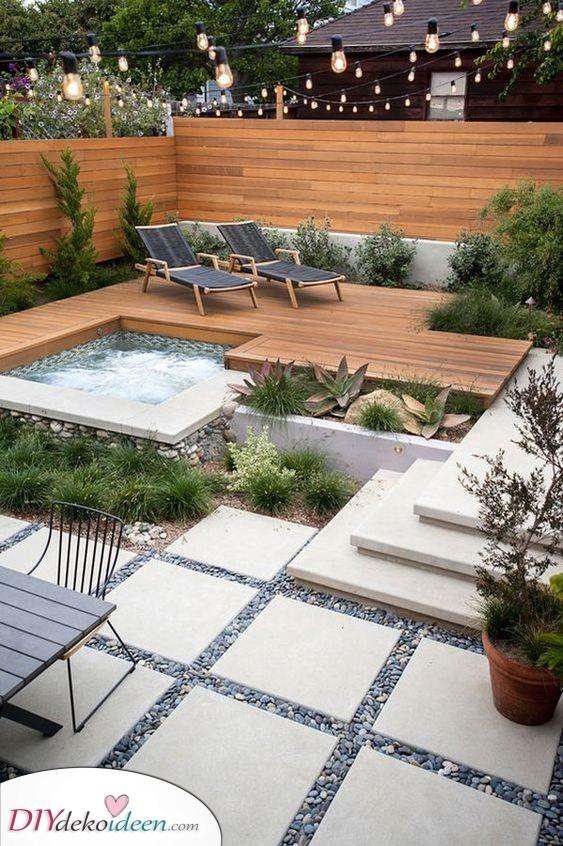 Ein Ort zum Entspannen – Gartenideen für kleine Gärten