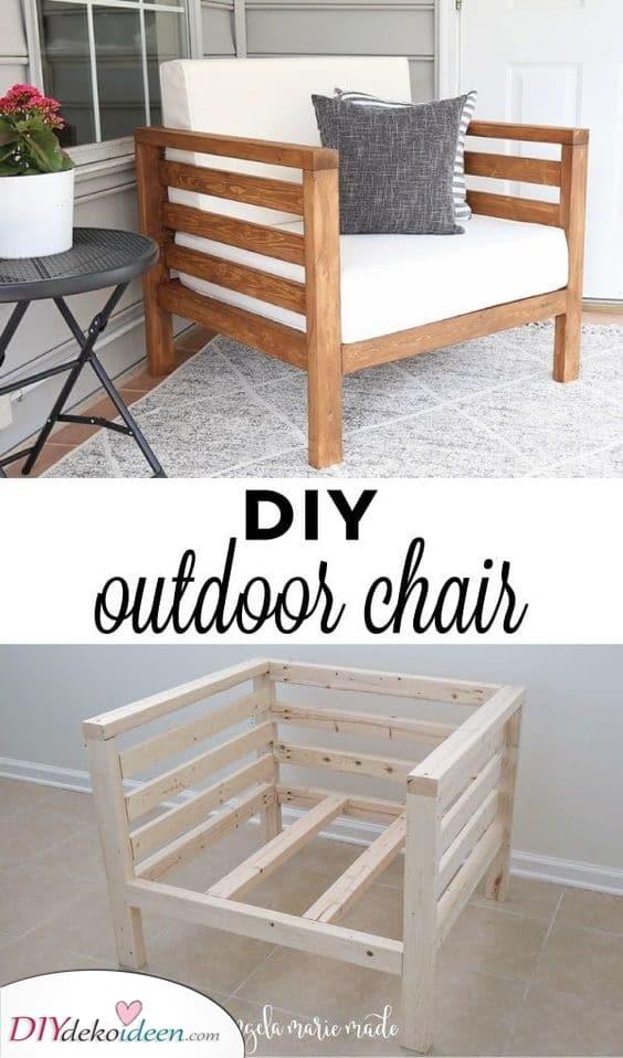 Einen Stuhl bauen – Selbst ist der Mann