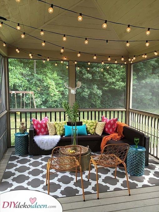 Bequem und gemütlich – Garten Terrassen Ideen