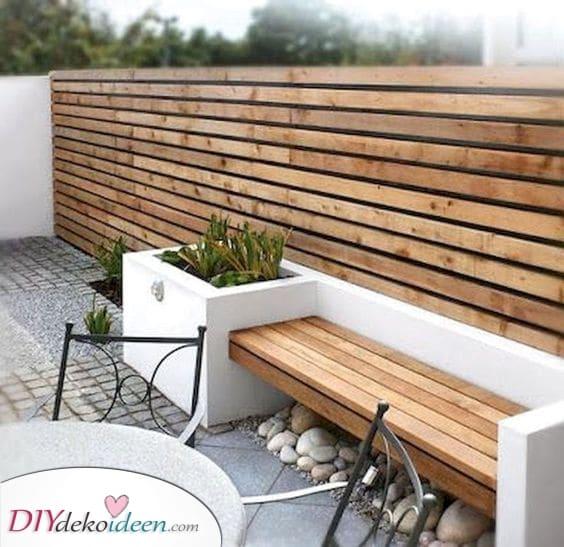 Modern und schick – Ideen für den Gartenzaun
