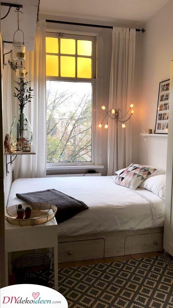 Gemütlich und süß – Ideen für kleine Schlafzimmer
