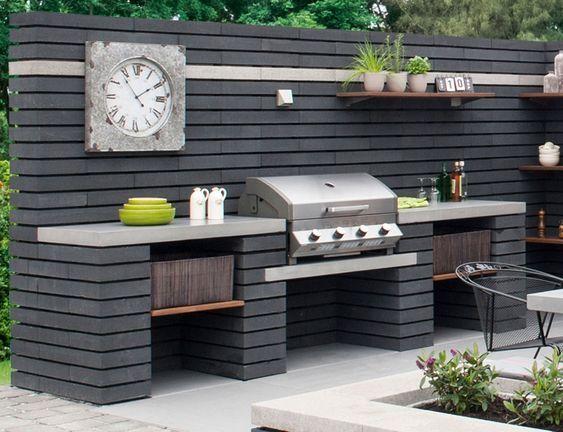 Bauen Sie eine ganze Küche – Gartengrill selber bauen