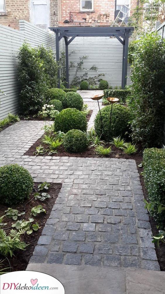 Bauen Sie eine Terrasse – Kleinen Garten gestalten