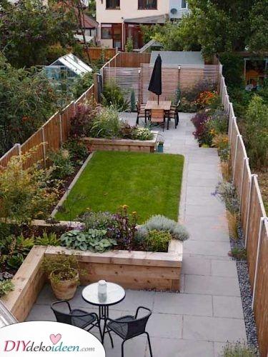 Lang und schmal – Kleinen Garten gestalten