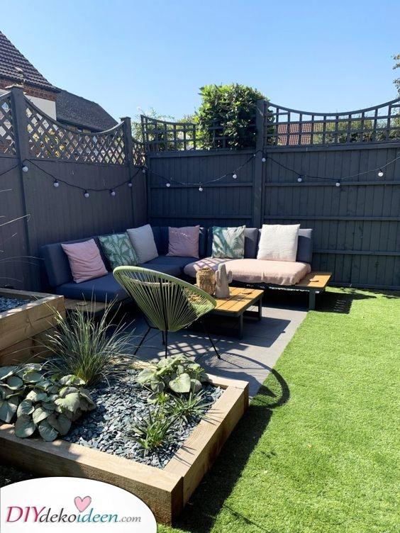 Eine süße Ecke – Ideen für kleine Gärten
