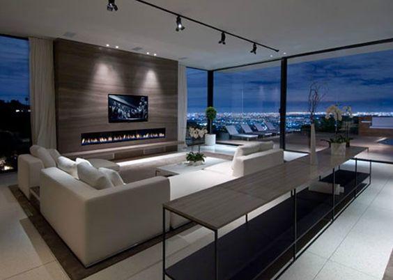 Beleuchten Sie wichtige Bereiche – Eine moderne schöne Wohnzimmer Beleuchtung