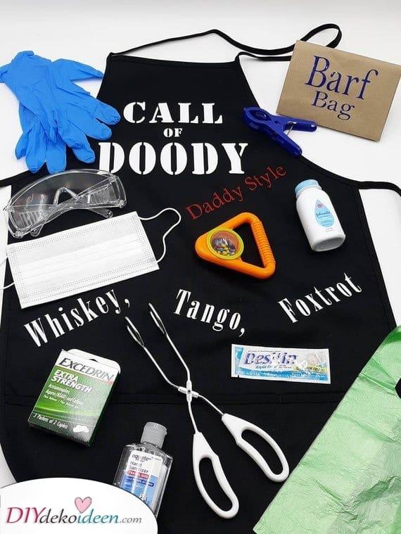 Ein Starter Kit für die Eltern – Personalisierte Babyparty Geschenkideen