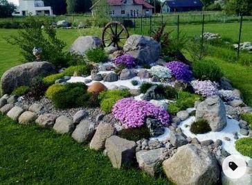 Kunst in Ihrem Garten – Einen kreativen Steingarten anlegen