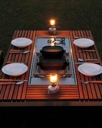 Mitten auf dem Tisch – Ideen für einen Grillplatz im Garten