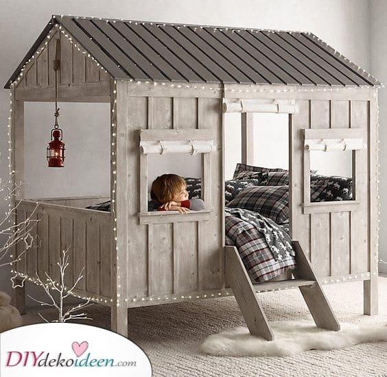 Ein winterliches Wunderland – Zimmer Ideen für kleine Jungs