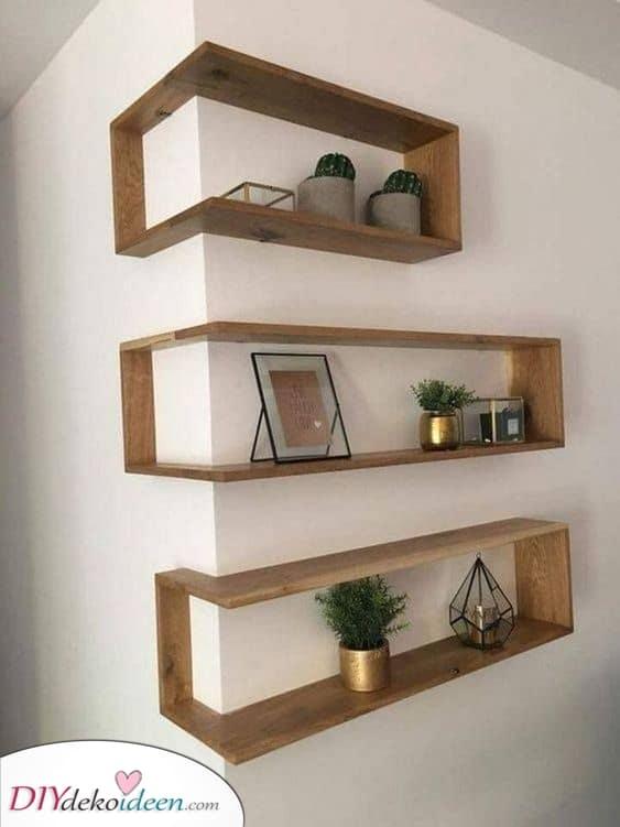 Um die Ecken – Einzigartige Bücherregal Ideen
