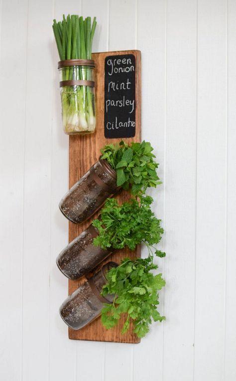 Glasgläser neu denken – Kräutergarten für die Küche