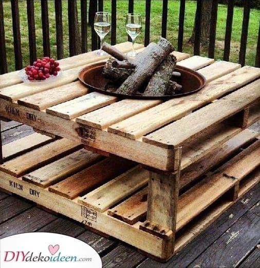 Verwendung von Altholz – Balkonmöbel selber bauen