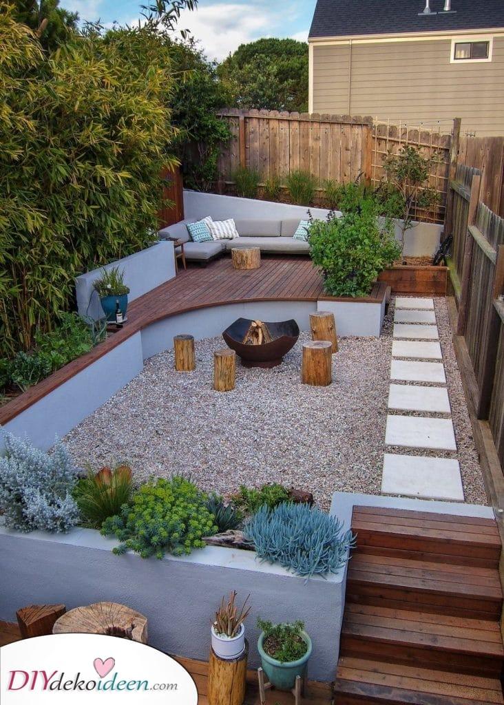 Ein exotischer Raum – Kleine Gartengestaltungsideen