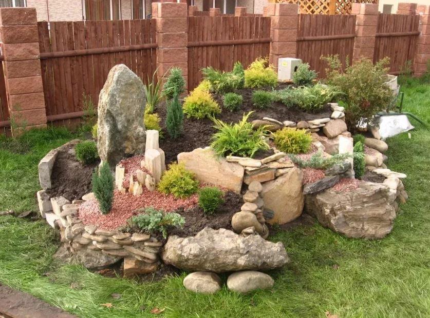 Ein erhöhter Steingarten – Schöne Steingartenpflanzen für Ihren Garten