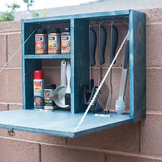 Ein kleiner Schrank – Für Ihre Küchenutensilien