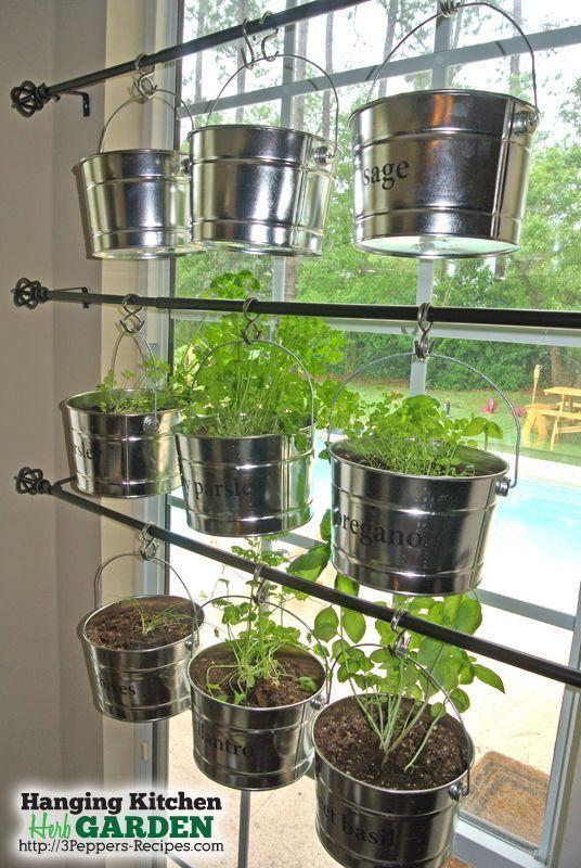 Ein hängender Garten – Küchen Kräutergarten