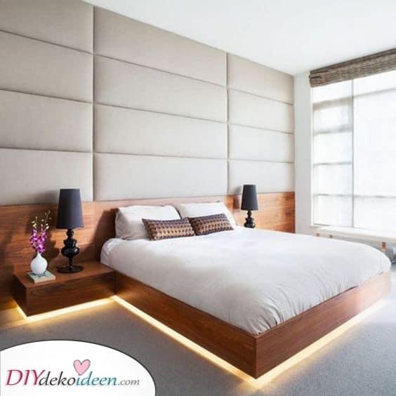 Direkt unter dem Bett – Dekorative Lichter