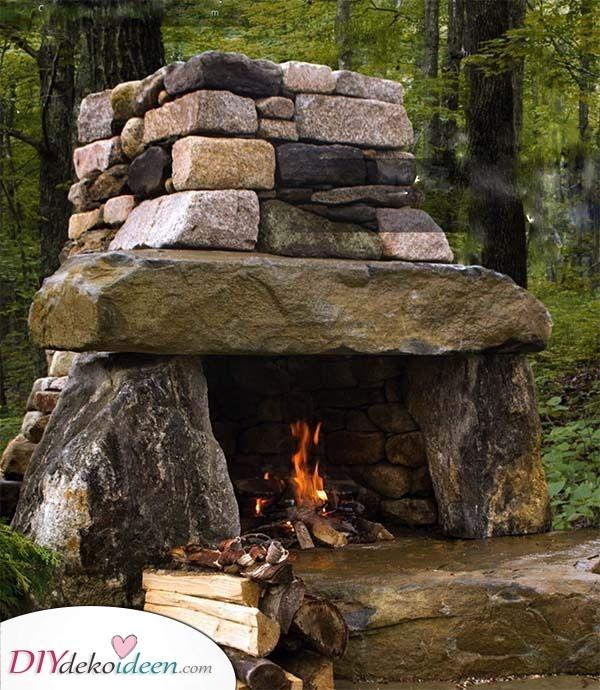 Steine und Felsen – Eine natürliche Atmosphäre