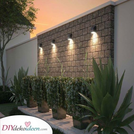 Gartenwandleuchten – Gartenbeleuchtung für Sie und Ihr Zuhause