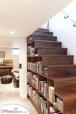 Unter der Treppe – Praktisch und einfach