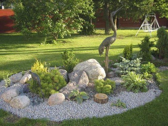 Landschaftsgestaltung mit Felsen – Steingarten Ideen