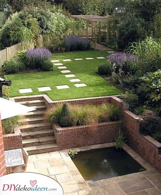 Ein paar tolle Spezialeffekte – Kleinen Garten gestalten