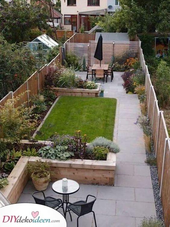 Ein Platz für alles – Ideen für kleine Gärten