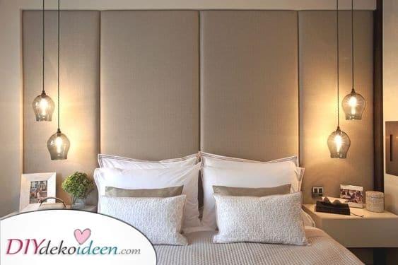 Fantastische Lampenschirme aus Glas – Eine schöne Schlafzimmer Leuchte