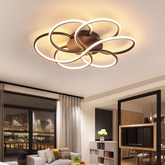 Wohnzimmerleuchten die passen – Moderne Kronleuchter für das Wohnzimmer