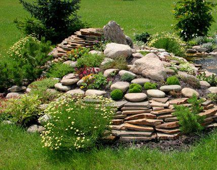 Den eignen Steingarten anlegen – Fantastische Steingarten-Garten-Designs