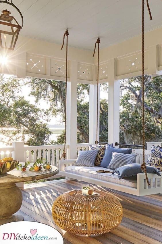 Ein schwingendes Sofa – Garten Terrassen Ideen