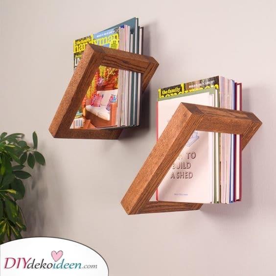 Bücherregal Ideen – Coole Bücherregal-Designs