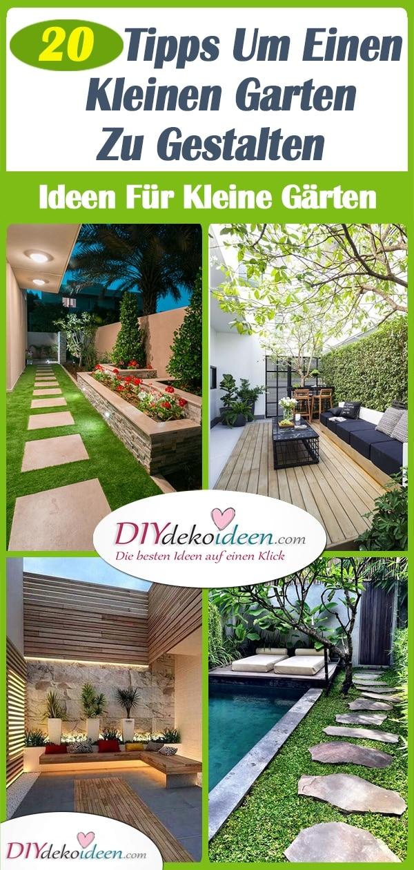 20 Tipps Um Einen Kleinen Garten Zu Gestalten – Ideen Für Kleine Gärten